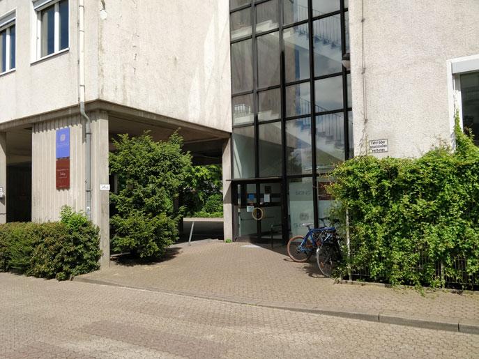 Eingang Findorffstraße 13A