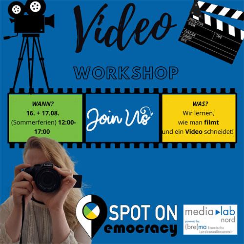 Sharepic: Videoworkshop