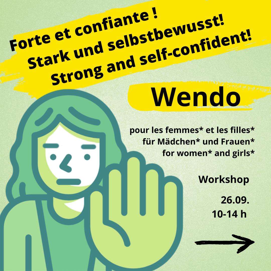 Sharepic Wendo Workshop