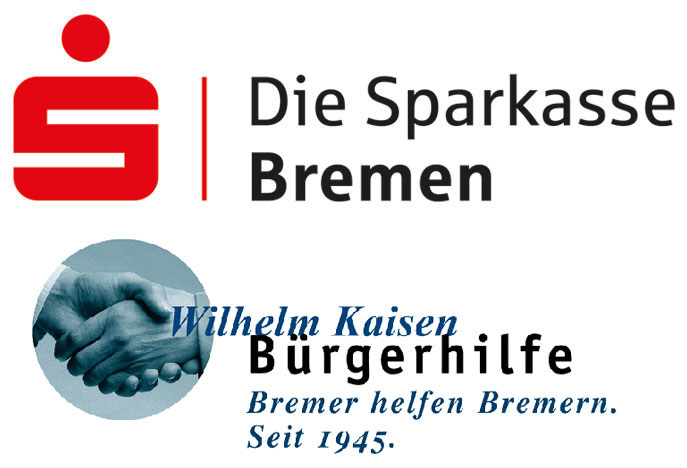 Logos Sparkasse Bremen und Wilhelm-Kaisen-Bürgerhilfe