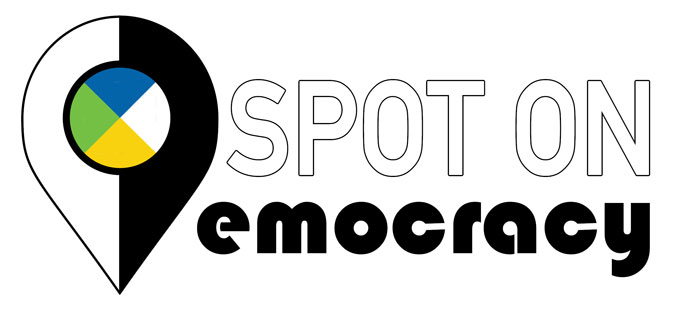 Spot on Democracy Logo
