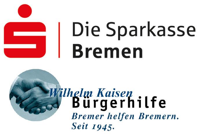 Logos Sparkasse Wilhelm-Kaisen-Bürgerhilfe